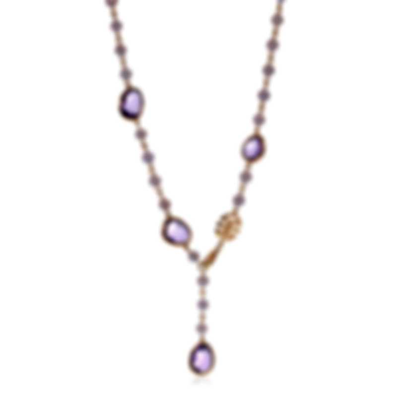 Mimi Milano Talita 18k Rose Gold And Amethyst Necklace C325R3A