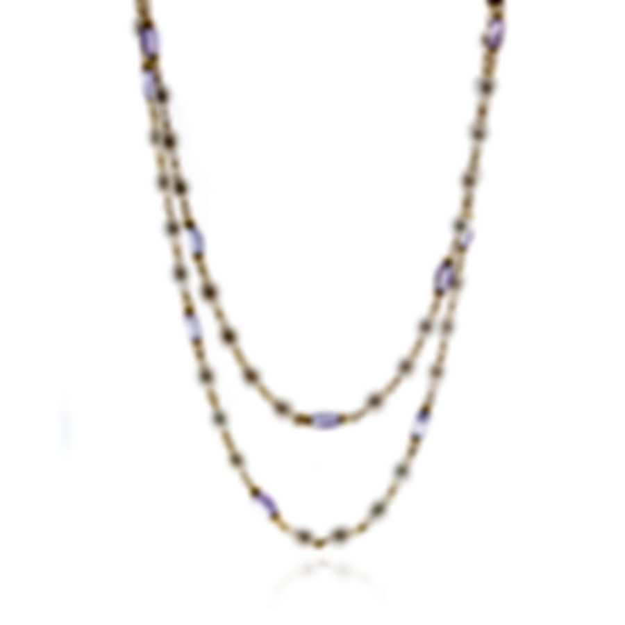 Mimi Milano Gocce 18k Yellow Gold And Pearl Necklace C336AP3