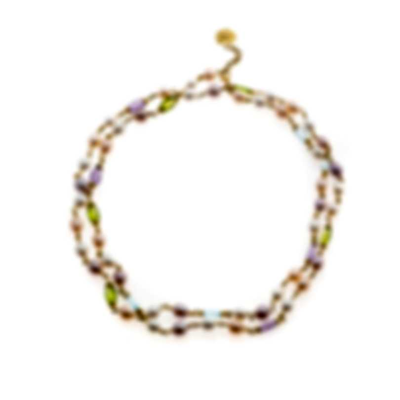 Mimi Milano Gocce 18k Yellow Gold And Pearl Necklace C336ATP