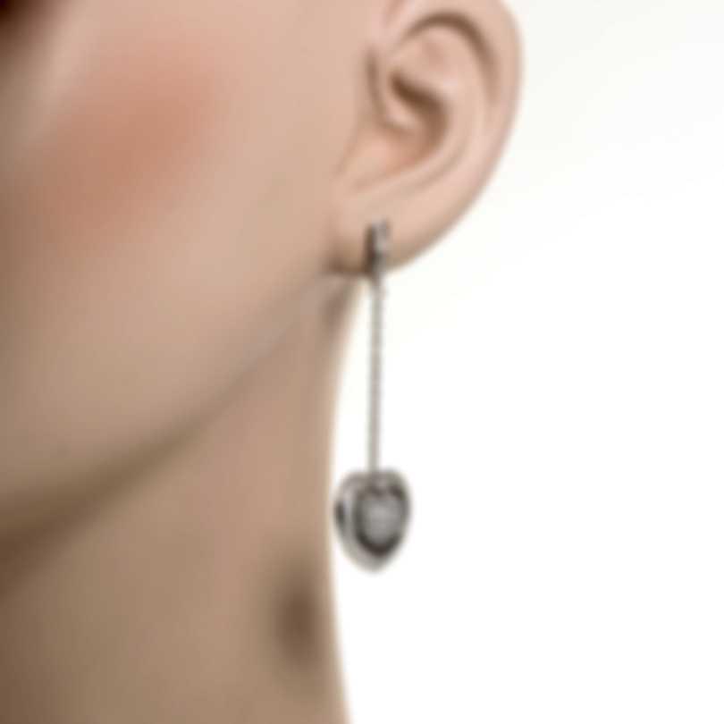 Mimi Milano Giulietta E Romeo 18k White Gold Diamond 1.75ct Earrings OLM308B8B