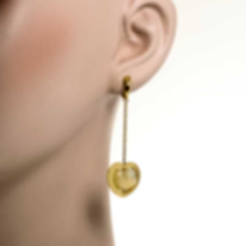Mimi Milano Giulietta E Romeo 18k Yellow Gold And Citrine Earrings OLM308G8C