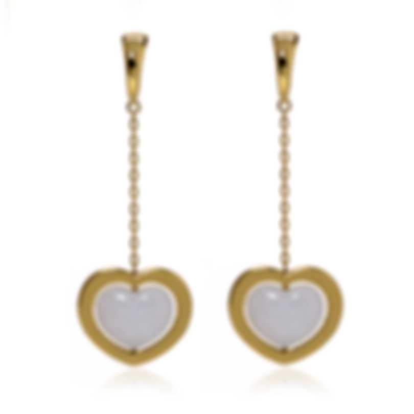 Mimi Milano Giulietta E Romeo 18k Yellow Gold Quartzite Earrings OLM308G8Q1
