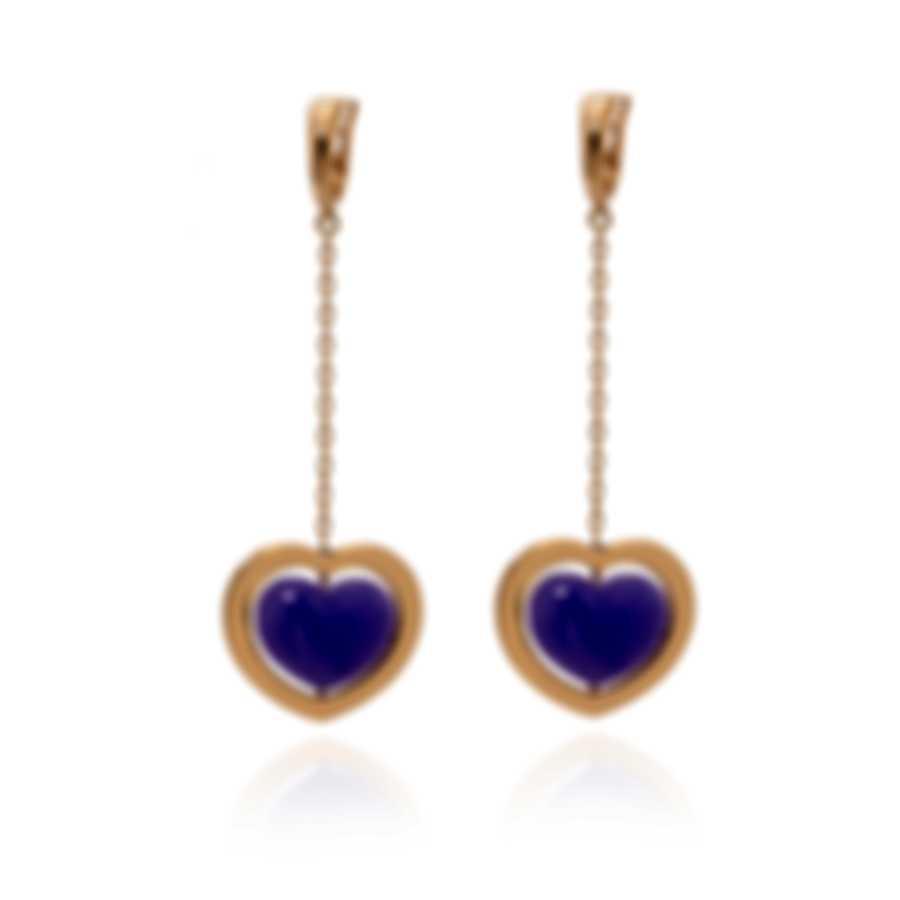 Mimi Milano Giulietta E Romeo 18k Rose Gold And Quartzite Earrings OLM308R8Q3