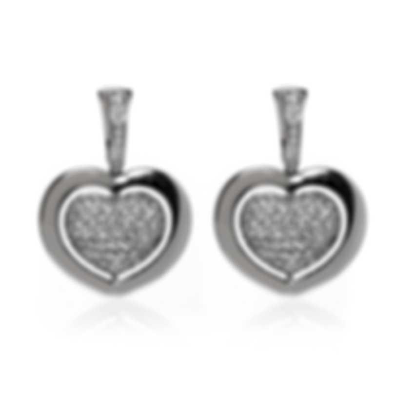 Mimi Milano Giulietta E Romeo 18k White Gold Diamond 1.75ct Earrings OLM309B8B