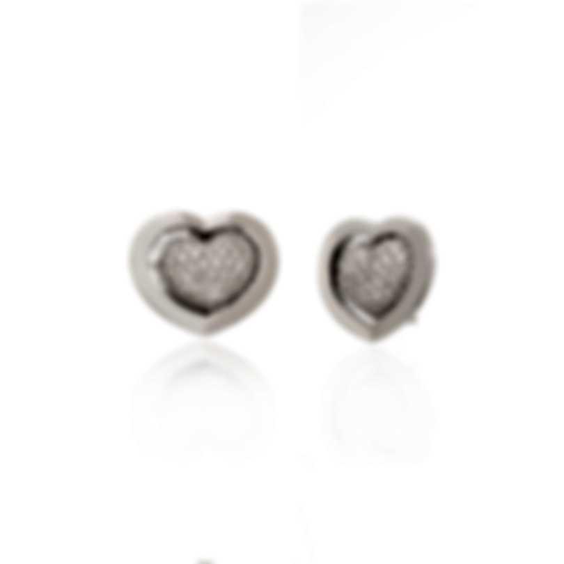 Mimi Milano Giulietta E Romeo 18k White Gold Diamond 1.62ct Earrings OLM310B8B