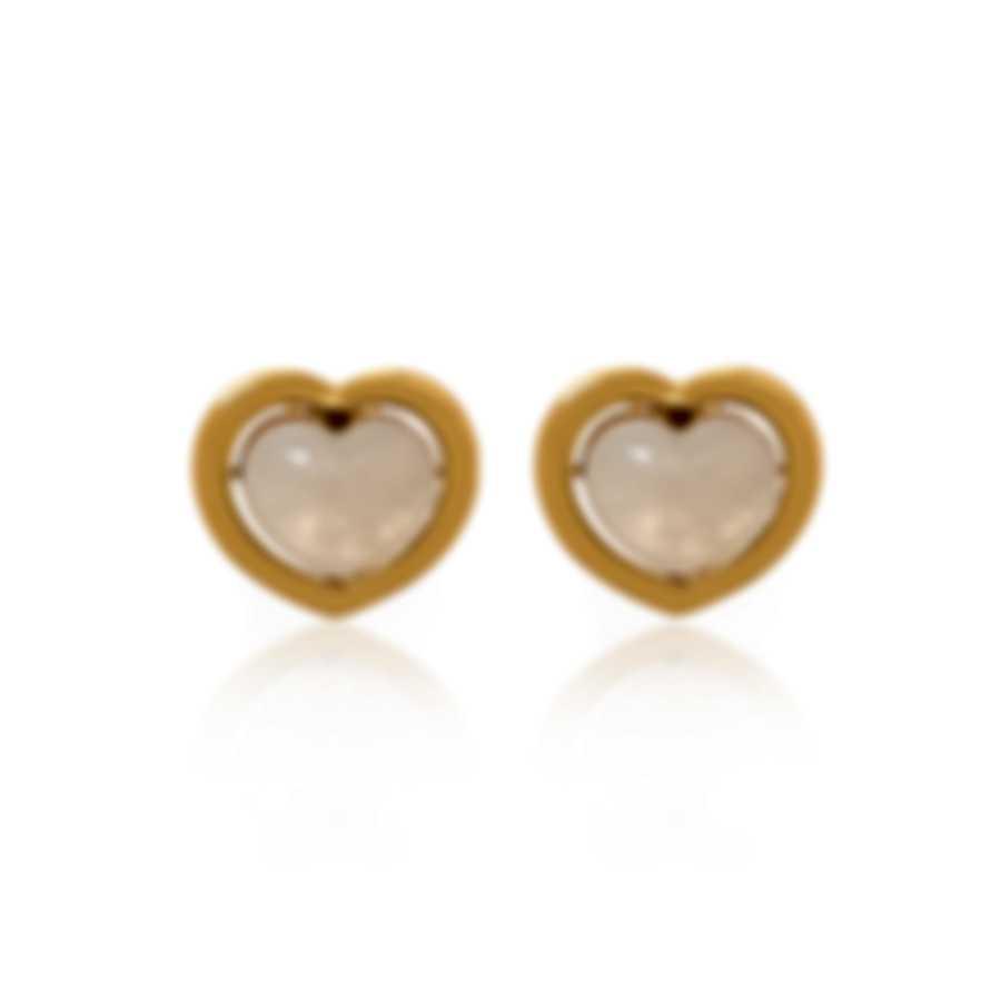 Mimi Milano Giulietta E Romeo 18k Yellow Gold And Jade Earrings OLM310G8GA