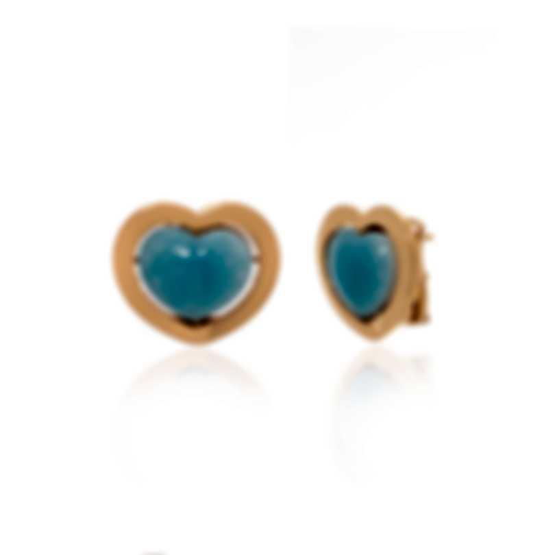 Mimi Milano Giulietta E Romeo 18k Rose Gold And Quartzite Earrings OLM310R8Q6