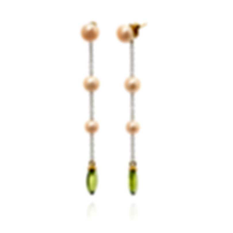 Mimi Milano Gocce 18k Yellow Gold And Pearl Earrings O055A04