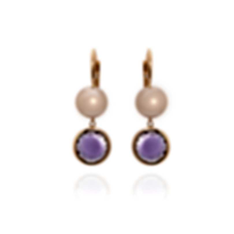 Mimi Milano EN 18k Rose Gold And Pearl Earrings O173R3A