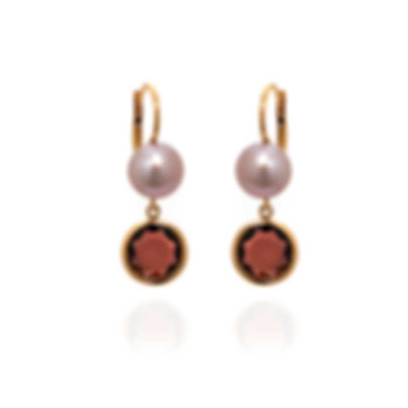 Mimi Milano EN 18k Rose Gold And Pearl Earrings O173R3H