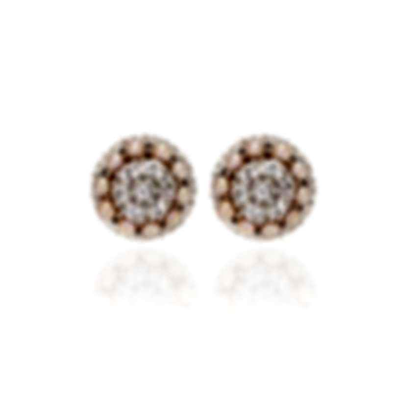 Mimi Milano Garbo 18k White Gold And Sapphire Earrings O241C3Z-B
