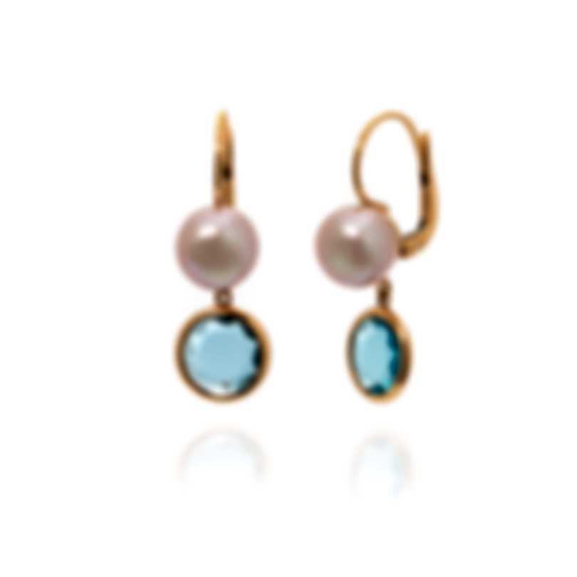 Mimi Milano EN 18k Rose Gold And Pearl Earrings O272R3T