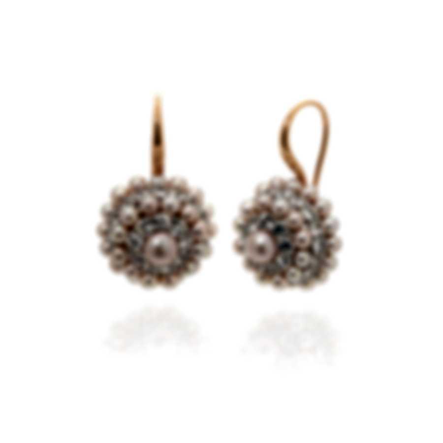 Mimi Milano Garbo 18k Yellow Gold And Pearl Earrings O280C3Z