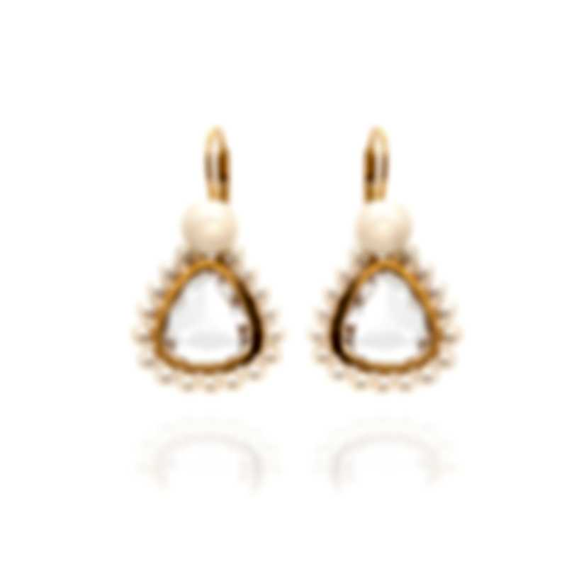 Mimi Milano Diva 18k Rose Gold And Pearl Earrings O202R1J