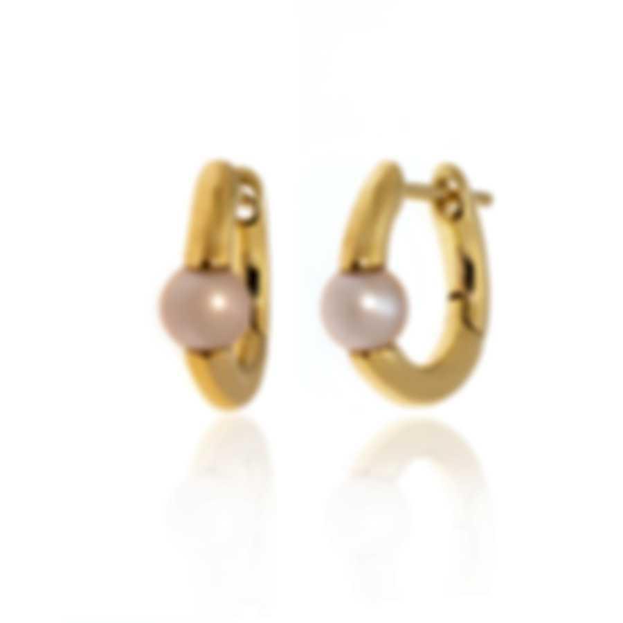 Mimi Milano Nagai Sirenette 18k Yellow Gold And Pearl Earrings O364G2