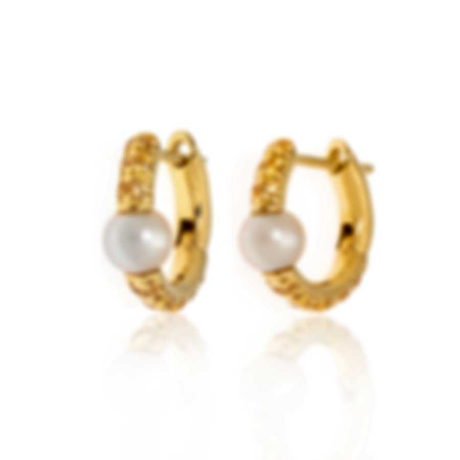 Mimi Milano Nagai Sirenette 18k Yellow Gold And Pearl Earrings O365G2Z4