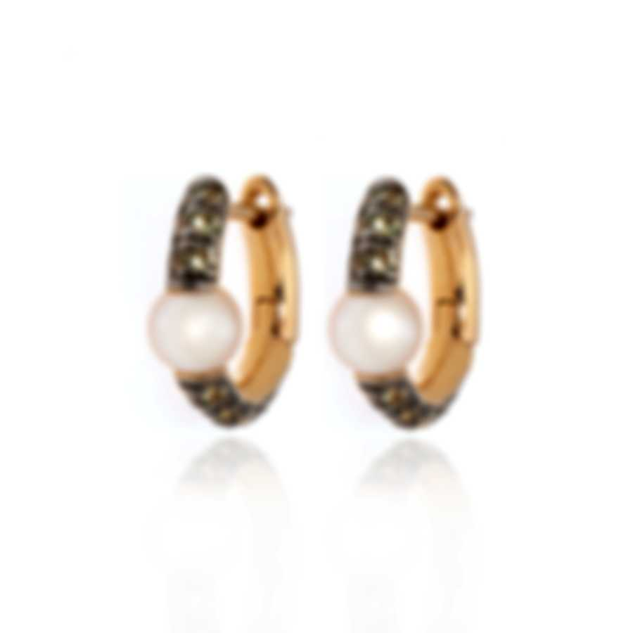 Mimi Milano Nagai Sirenette 18k Rose Gold And Pearl Earrings O365R2P