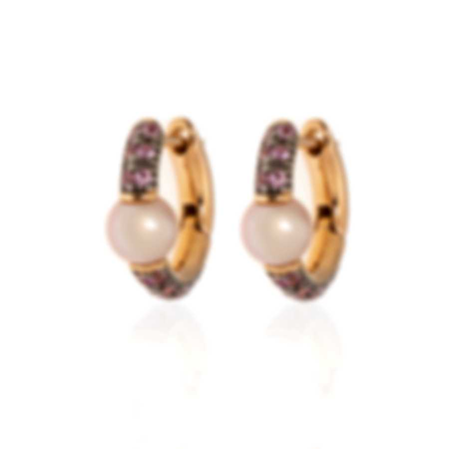 Mimi Milano Nagai Sirenette 18k Rose Gold And Pearl Earrings O365R3R