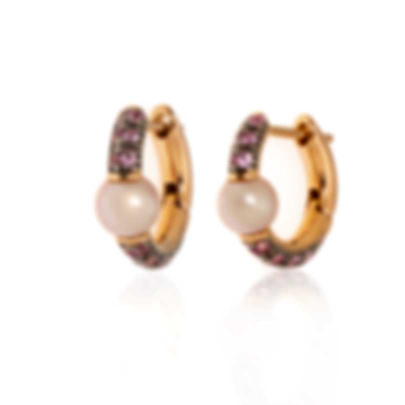Mimi Milano Nagai Sirenette 18k Rose Gold And Pearl Earrings O365R3R