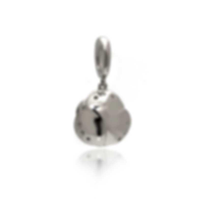 Mimi Milano Rose 18k White Gold Diamond 0.2ct Pendant P449B8B