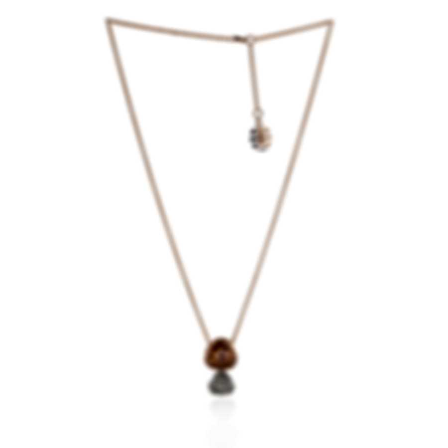 Mimi Milano Rose 18k Rose & White Gold Diamond & Sapphire Necklace P505C8BZ2