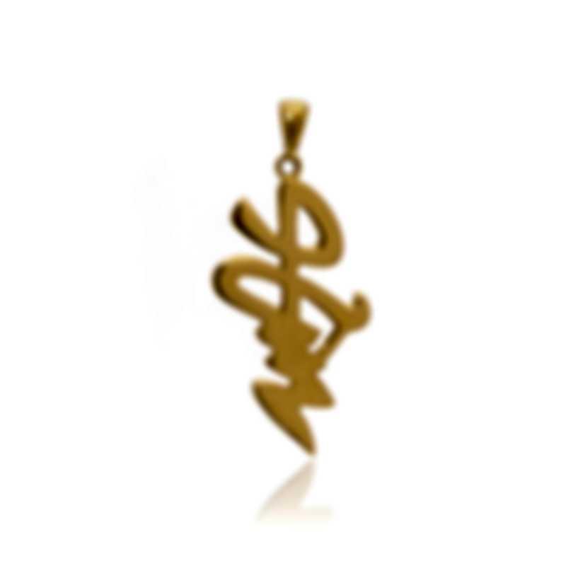 Mimi Milano Ideogrammi 18k Yellow Gold Pendant PG40AZZ