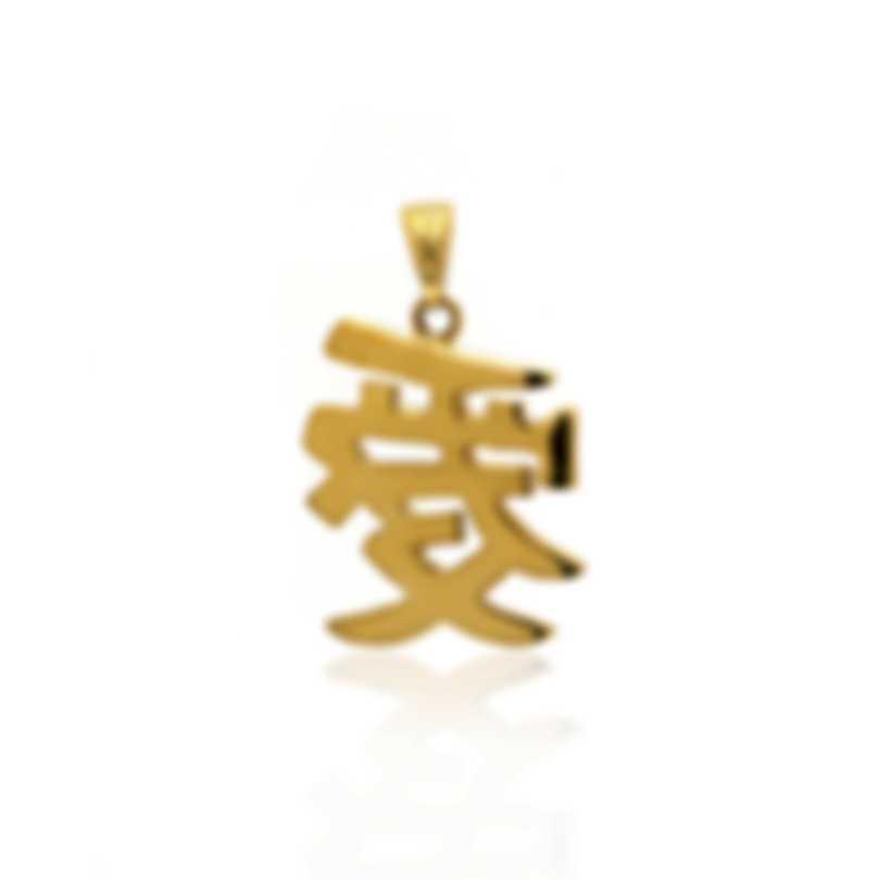 Mimi Milano Ideogrammi 18k Yellow Gold Pendant PG20AZZ
