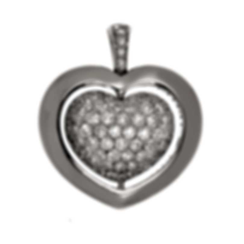 Mimi Milano Giulietta E Romeo 18k White Gold Diamond 0.83ct Pendant PLM308B8B
