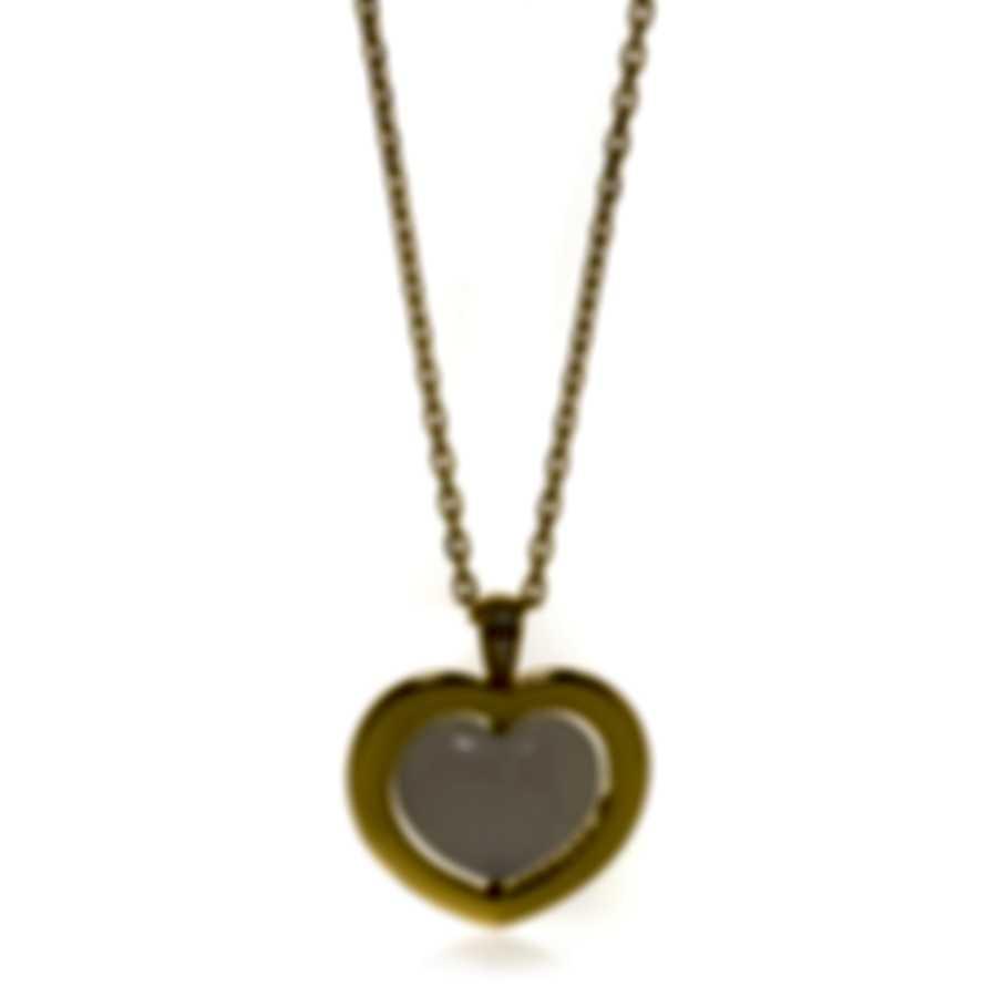 Mimi Milano Giulietta E Romeo Gold Diamond .02ct Quartzite Necklace PLM308G8Q1B