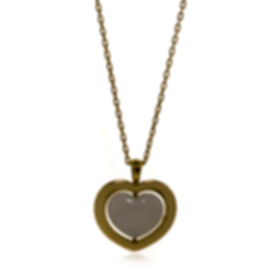 Mimi Milano Giulietta E Romeo 18k Yellow Gold Quartzite Necklace PLM308G8Q1