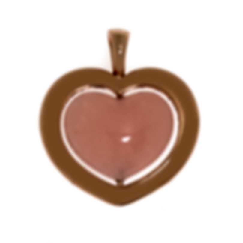 Mimi Milano Giulietta E Romeo 18k Rose Gold Rose Quartzite Pendant PLM308R8Q2
