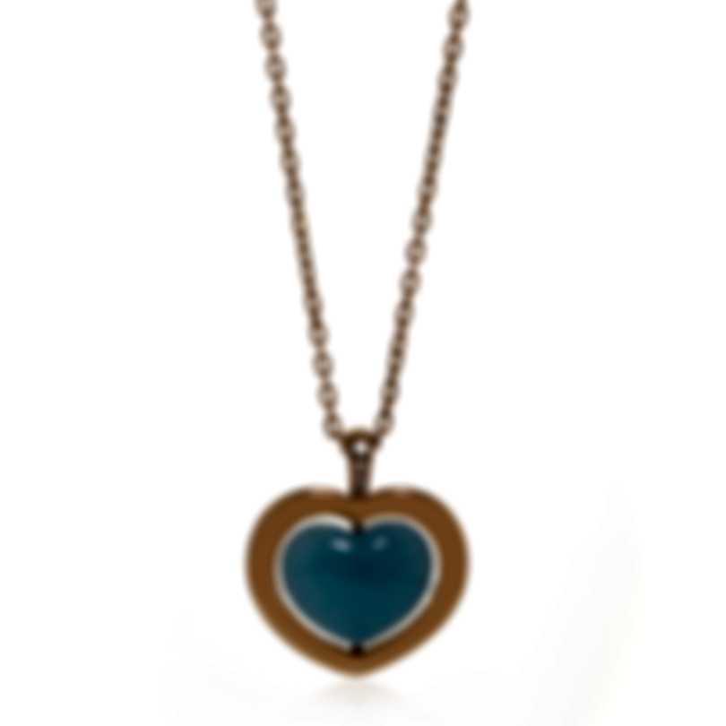 Mimi Milano Giulietta E Romeo Gold Diamond .02ct Quartzite Necklace PLM308R8Q6B