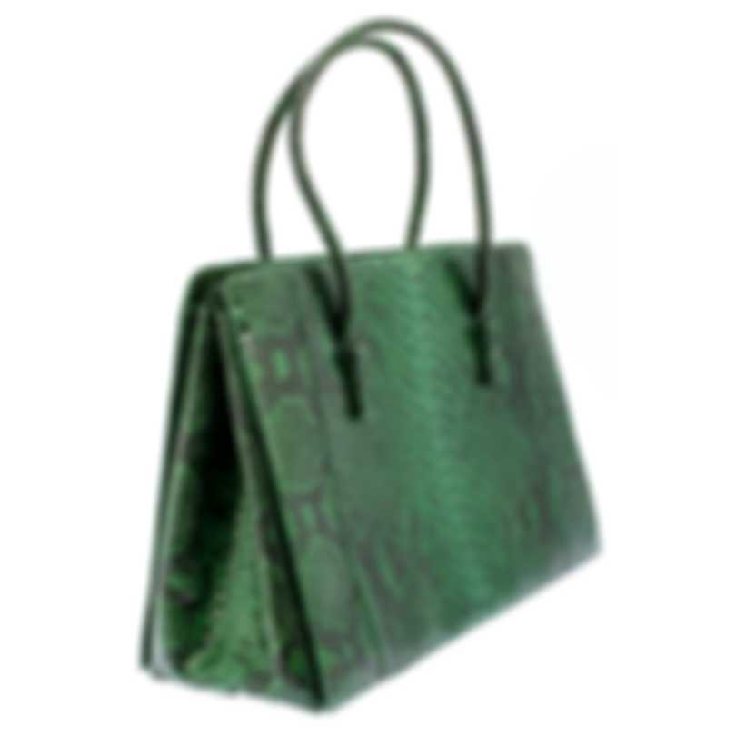 Nancy Gonzalez Resort 2020 Green Python Handbag CR145012-PY952