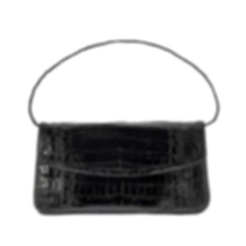 Nancy Gonzalez Women's Resort 2020 Crocodile Tracy Clutch CR195948-020