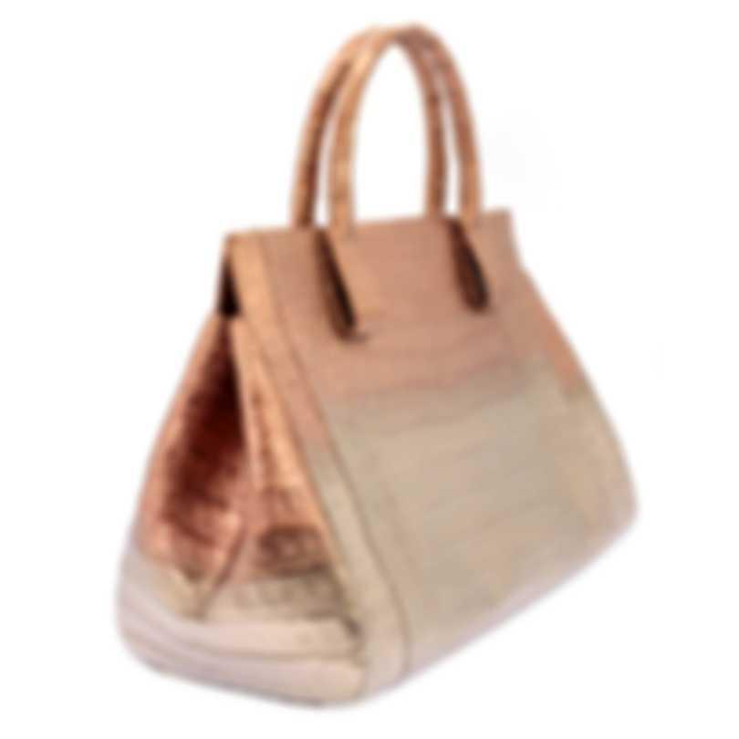 Nancy Gonzalez Resort 2020 Metallic Crocodile Handbag CS155275-II6