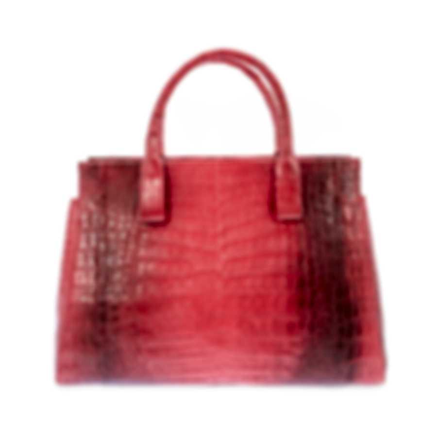 Nancy Gonzalez Resort 2020 Red Elaphe Handbag CS155275-DF8
