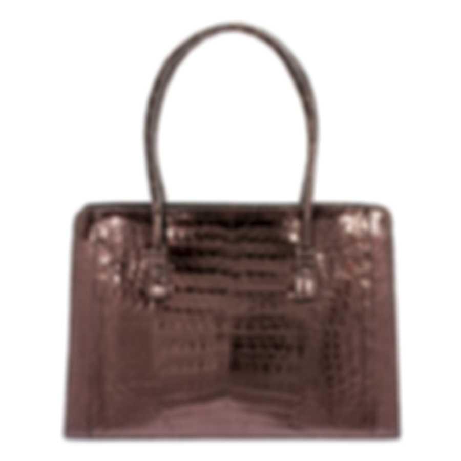 Nancy Gonzalez Resort 2020 Copper Crocodile Handbag CW145162-DE1