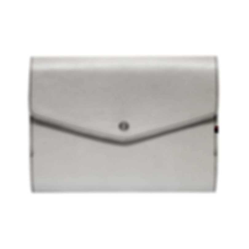 S.T. Dupont A5 White Leather Portfolio 092202 MSRP $270