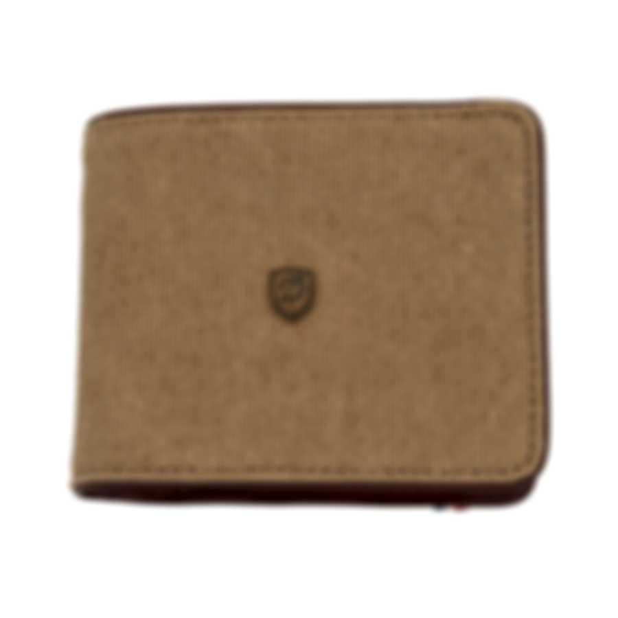 S.T. Dupont Iconic Men's Beige Cotton Six Credit Card Wallet 190300 MSRP $250.00