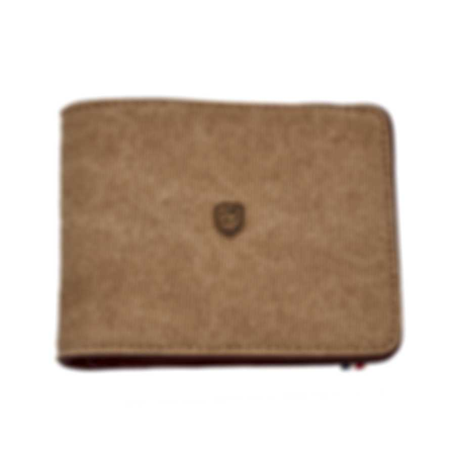 ST Dupont Iconic Beige 8 Credit Card Canvas And Calf Leather Billfold 190302