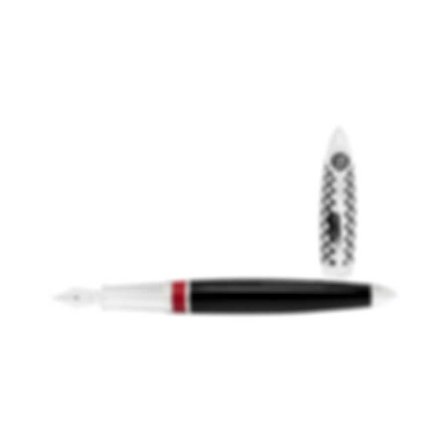 S.T Dupont Race Machine LE Fountain Pen (M) 251680RM MSRP $1600