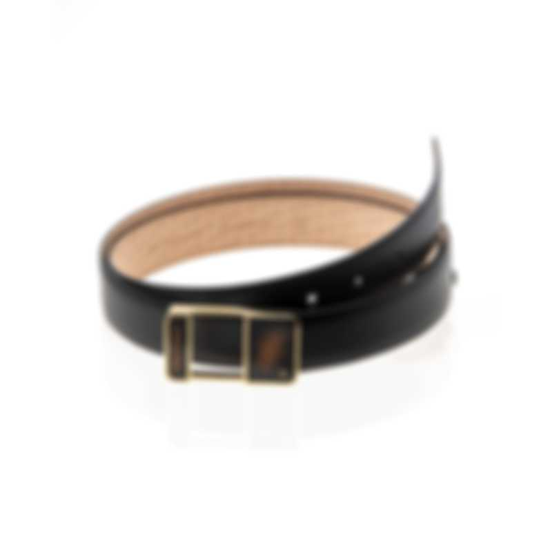 S.T. Dupont Line D Heritage Leather Belt 051157