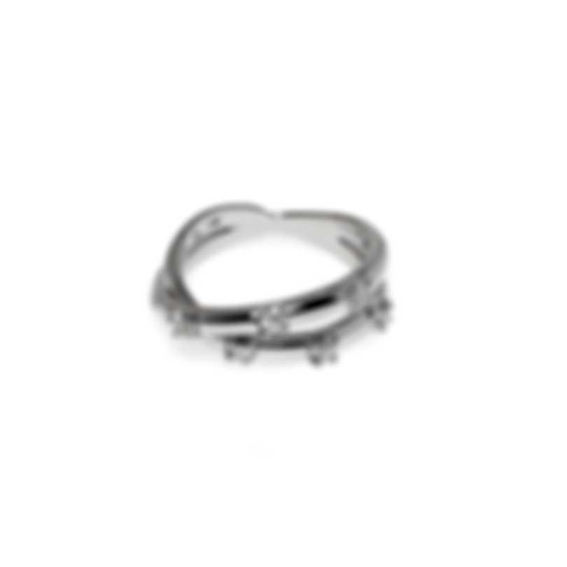 Salvini Magic 18k White Gold Diamond 0.20ct Ring Sz 7.5 20010062