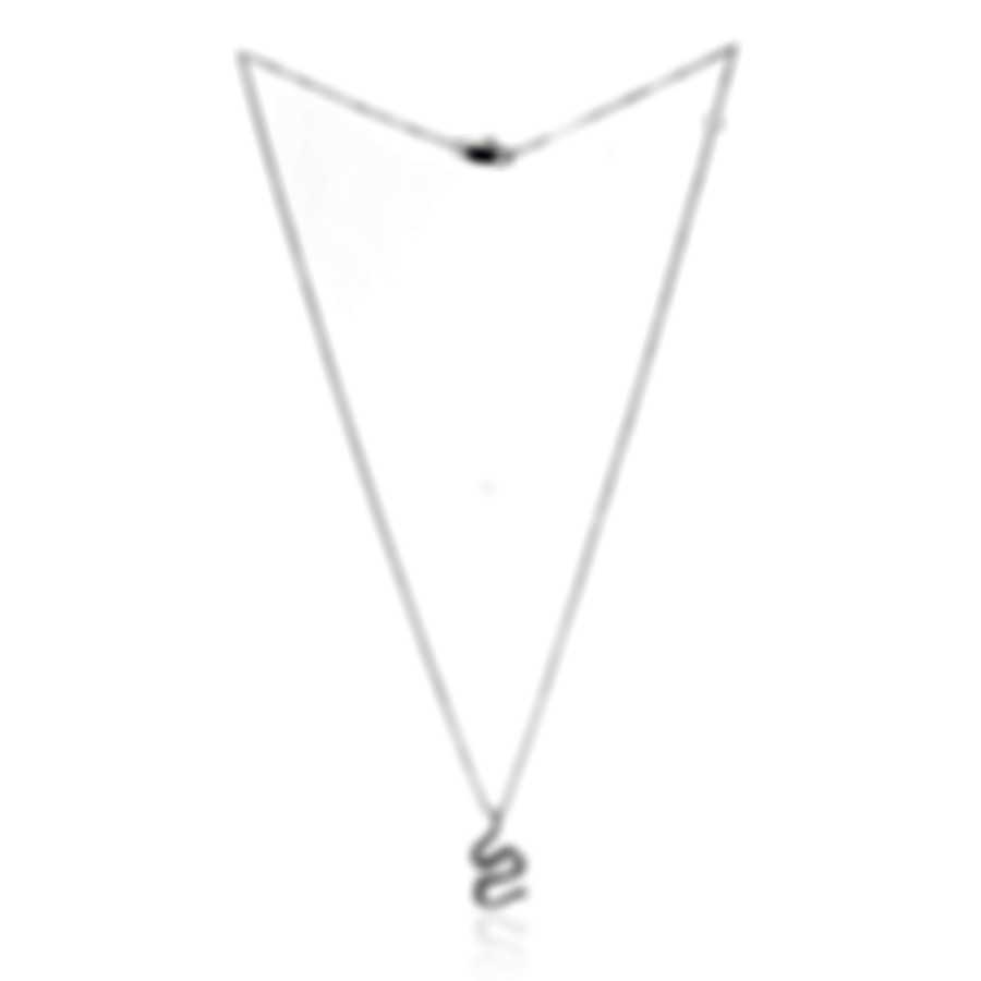 Salvini By Damiani Brigitte 18k White Gold Diamond 0.43ct Necklace 20013411