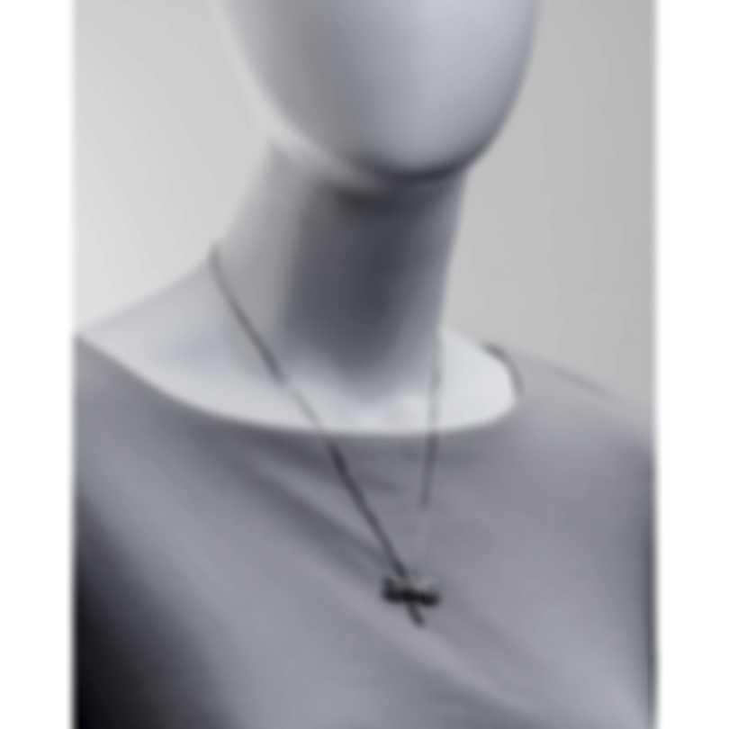 Salvini Libellule 18k White Gold Diamond 0.08ct Necklace 20022911