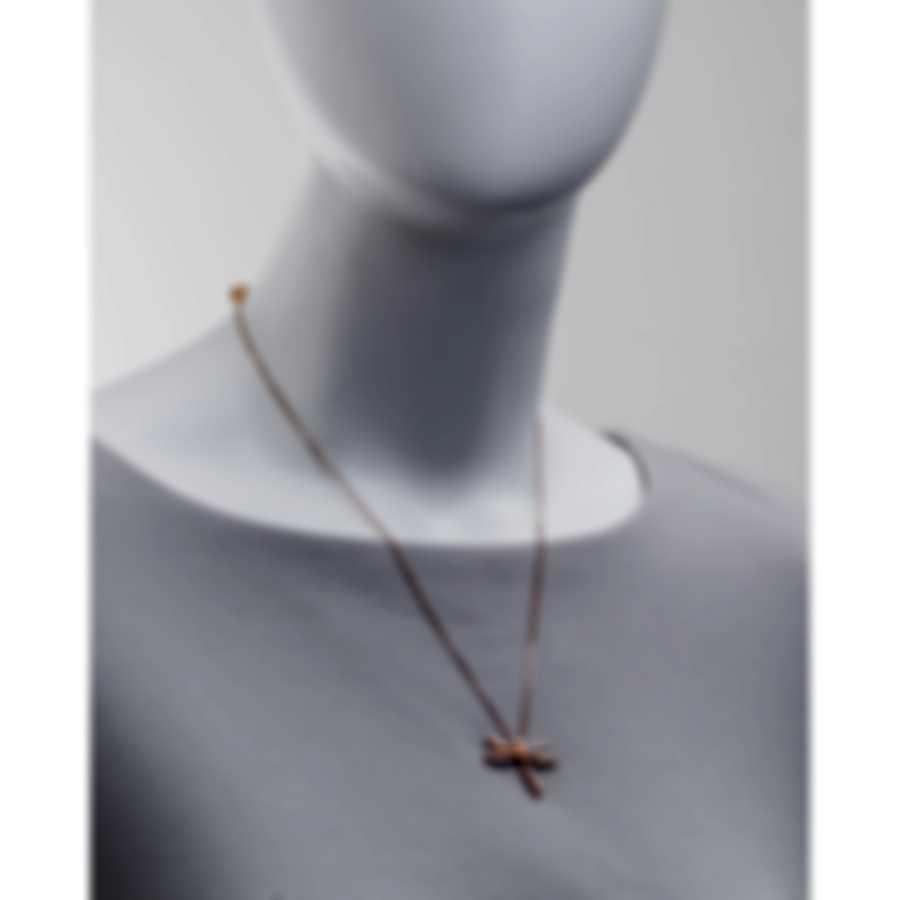 Salvini Libellule 18k Rose Gold Diamond 0.03ct Necklace 20022912