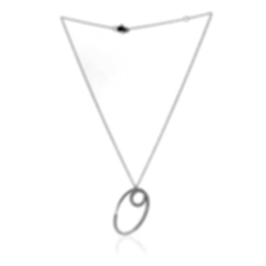 Salvini By Damiani Spilla 18k White Gold Diamond 0.52ct Necklace 20026755