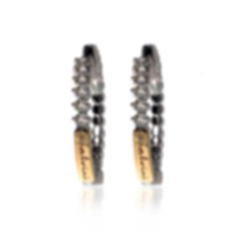 Salvini Logo Salvini 18k White & Rose Gold Diamond 0.20ct Earrings 20043843