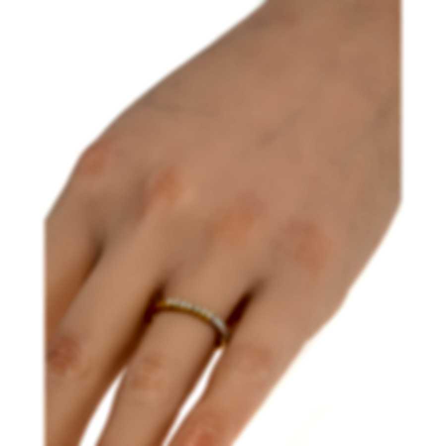 Salvini Logo Salvini 18k Yellow & White Gold Diamond 0.14ct Ring Sz 7.5 20043856