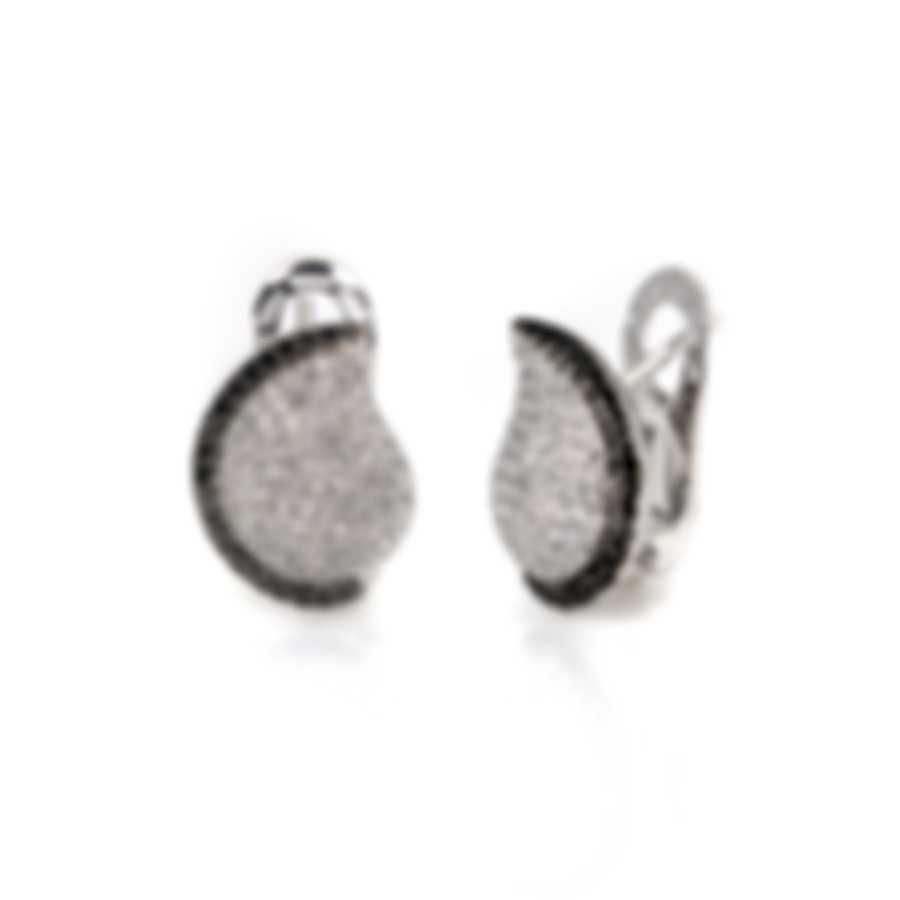 Salvini Hollywood 18k White Gold Diamond 1.34ct Earrings 20044046